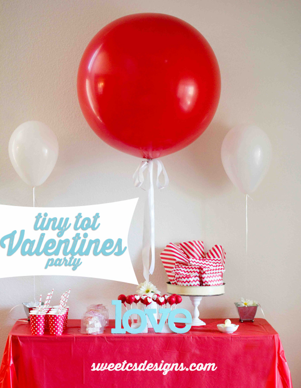 Tiny Tot Valentines day party