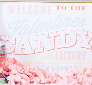 Valentines Candy Factory Party
