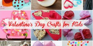 Valentine's day crafts for kids ideas