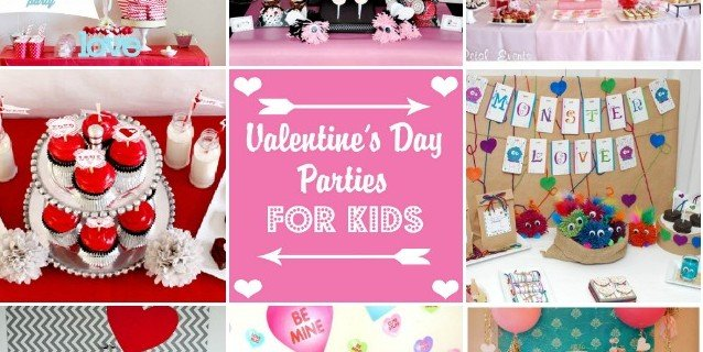 Valentine's Day Parties for Kids roundup at Design Dazzle