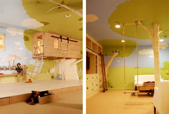 Amazing Ideas For Kids Room Ceilings So Magical