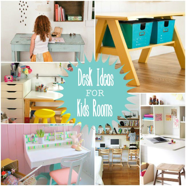 Kids Homework Room Ideas: Desk Ideas For Kids Rooms