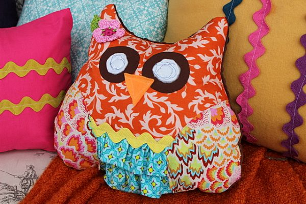 Night Owl Slumber Party pillows