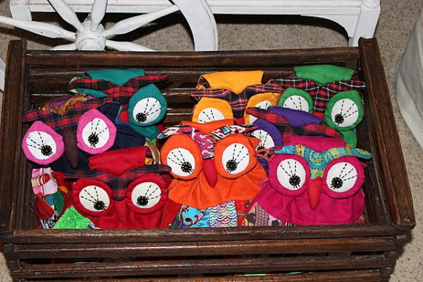 Night Owl Slumber Party backpacks