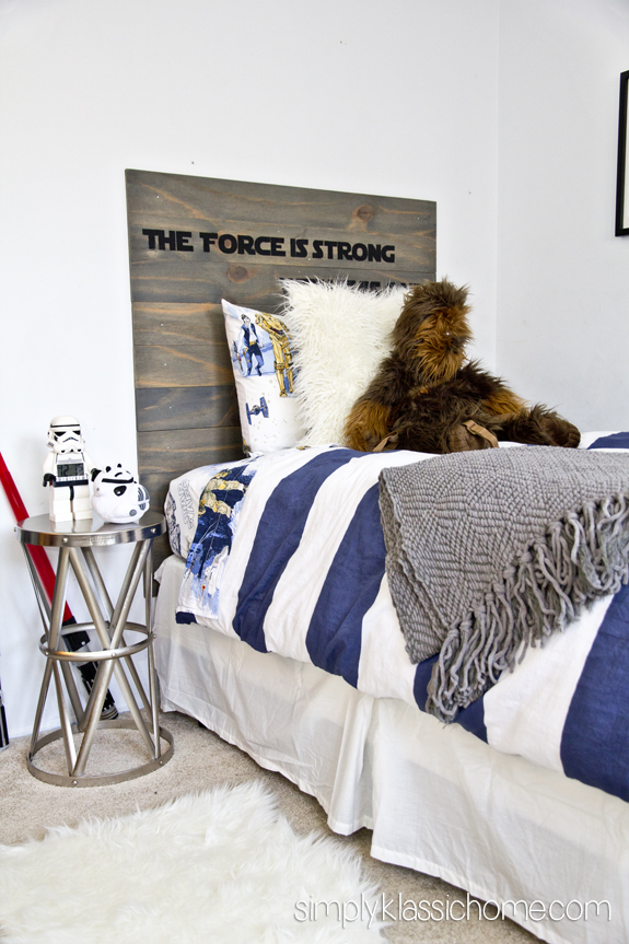 The Force is strong Star Wars Headboard