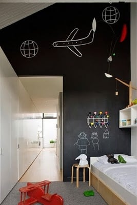 Creative Ways To Use Chalkboards In Kids Spaces