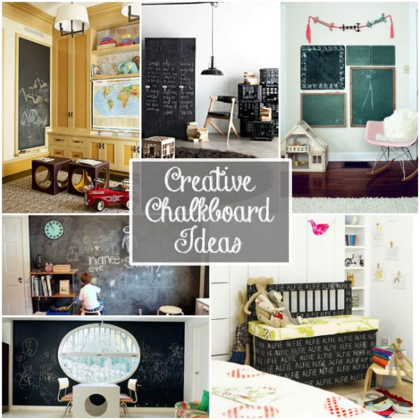 creative chalkboard ideas for kids spaces