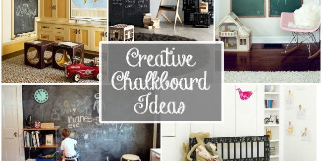 Simple creative chalkboard ideas placement tierra este for Unique chalkboard ideas