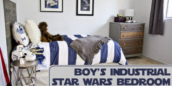 Industrial Star Wars Bedroom
