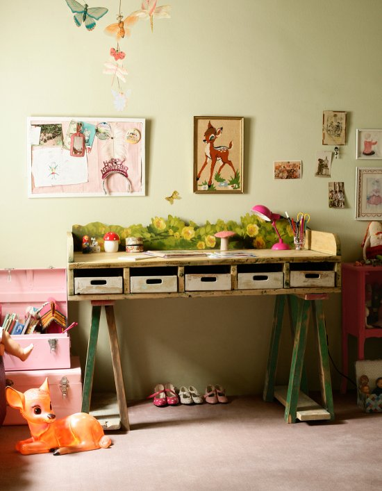 Desk Ideas for Kids Rooms