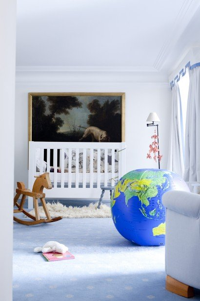 Large globe decor