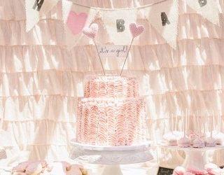 Pink Ruffle Baby Shower