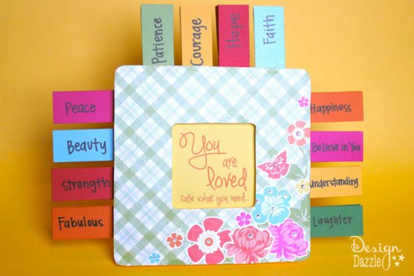tear-off affirmations: random acts of kindness craft ideas