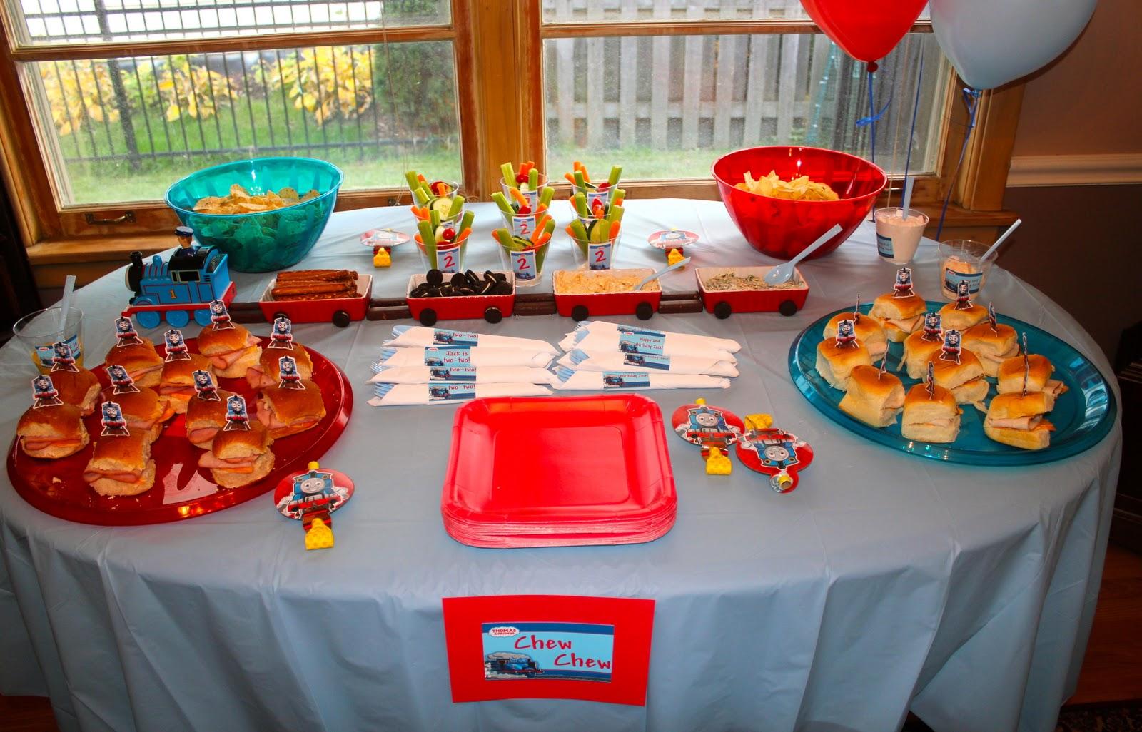 Choo Train Birthday Party