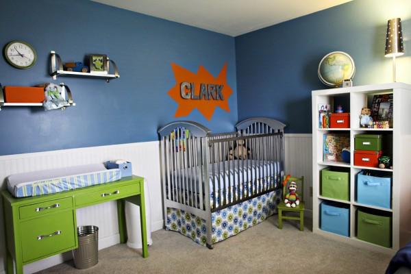 clark kent nursery