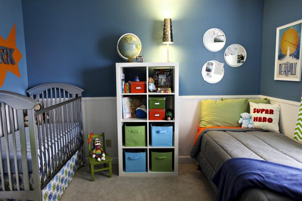 superman boys room