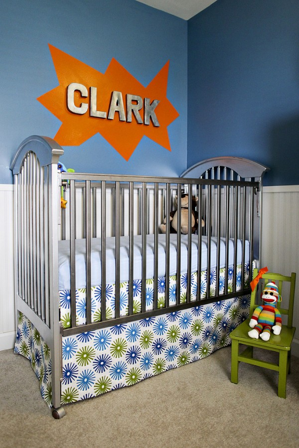 superman nursery