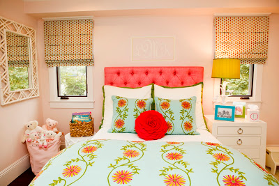 Bright And Beautiful Girls Bedroom