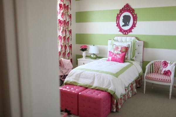 Pink And Green Girls Room Design Dazzle
