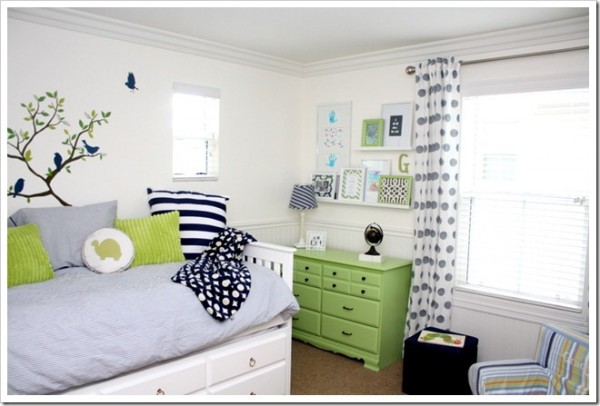 Blue green boys room design dazzle for Blue and green boys bedroom ideas