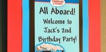 Thomas the Train party ideas