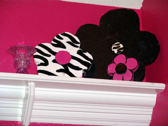 Girls Bedroom Zebra pink and black zebra teen girls bedroom