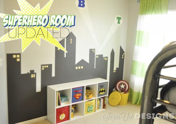 Super Hero Room Update Design Dazzle