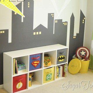 Superhero Room Update