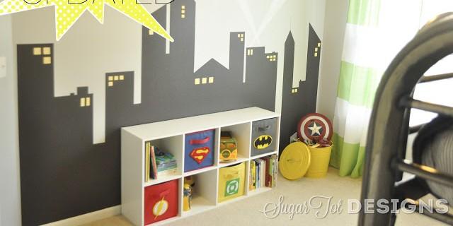 Super Hero Room Update