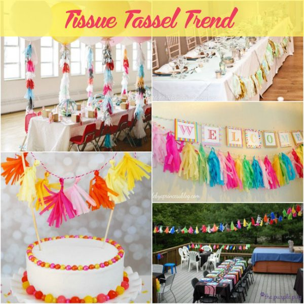 Tissue Tassel Trend ideas