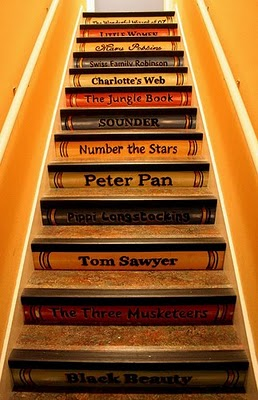 children's books staircase