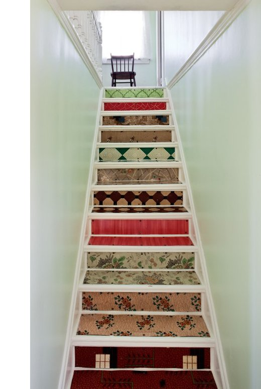 varied pattern staircase