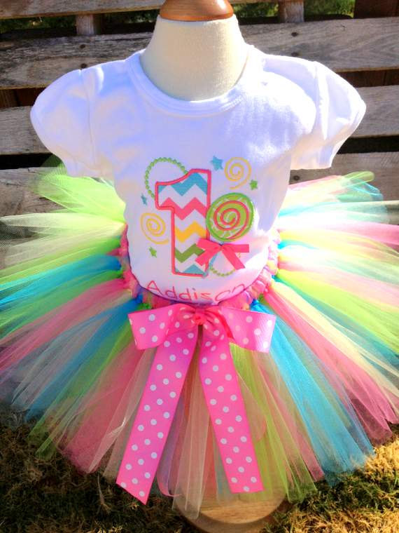 birthday shirt with tutu