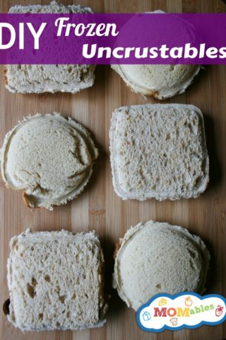 Homemade Uncrustable Sanwiches