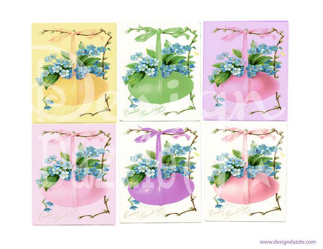 Easter Egg printable labels