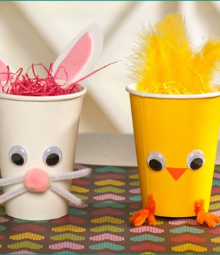 Simple Easter Kid Crafts