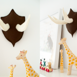 Cute DIY Felt Antlers