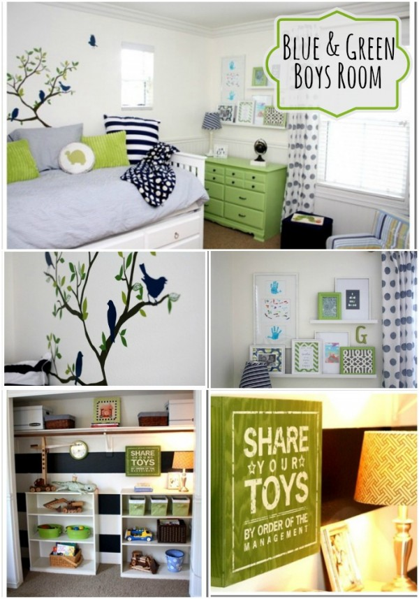 Green Boys Room By Courtney From A Thoughtful Place Love This Bright And Hy