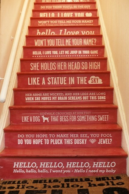Nice thoughts stairs