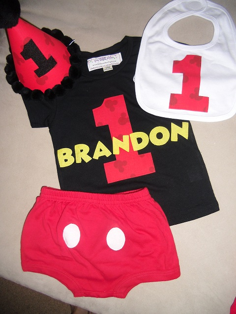 mickey birthday outfit