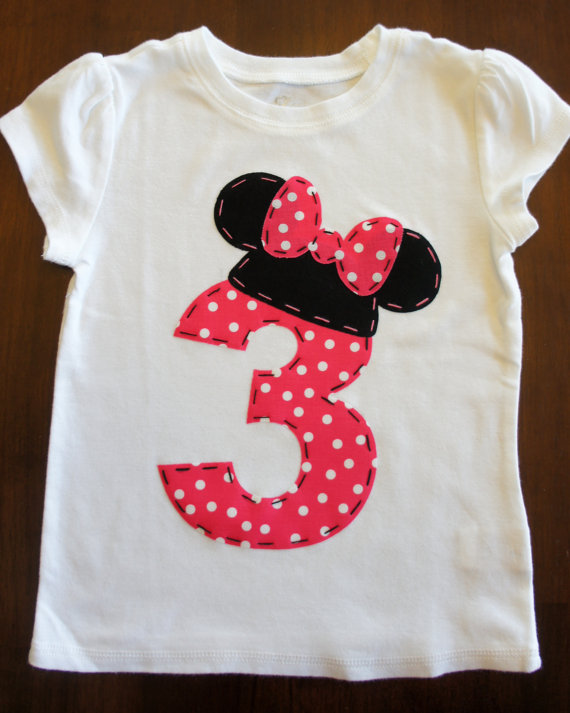 minnie mouse ears shirt