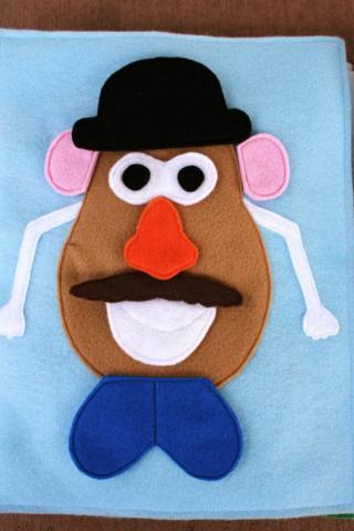 Mr. Potato Head Quiet Book Tutorial