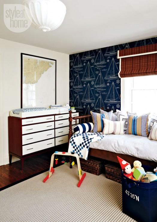 Nautical Boys Nursery Room Design Dazzle