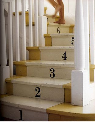 number stairs