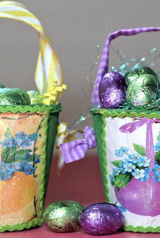 DIY Easter Baskets & Free Printable