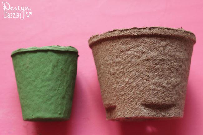 Peat Planter Easter Baskets Pots