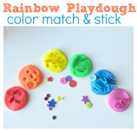rainbow-playdough-color-match-and-stick-