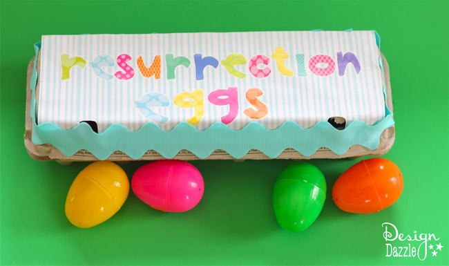 Easter Traditions to start with your family this year! Resurrection Eggs are a great way for you family to learn about Easter. www.DesignDazzle.com