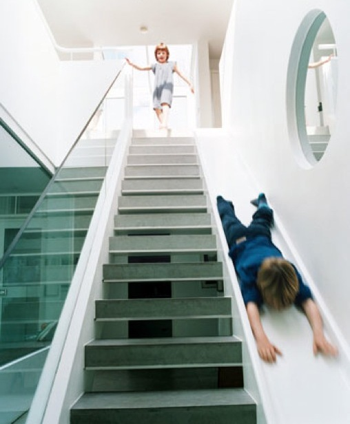 Fabulous Stairways With Kids In Mind