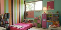 bright colorful toddlers room